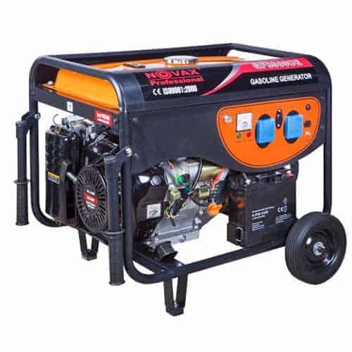 גנרטור NOVAX 7500W כולל AVR סטרטר ומצבר